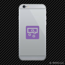 (2x) Currency Cell Phone Sticker Mobile icon symbol 2 many colors