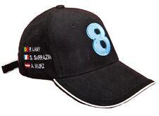 Gorra tenido coches 24 heures horas Le Mans Peugeot Team 8! nuevo!