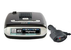 ESCORT MAX II Bluetooth GPS Voice Alert Radar Laser Detector 0100016-3