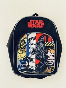 Star Wars Kids Backpack Junior Toddlers Character Rucksack School Lunch Bag