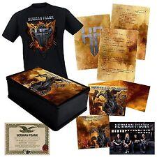 Herman Frank ACCEPT The Devil Rides Out AUTOGRAPHED Boxset +T-Shirt XL box set