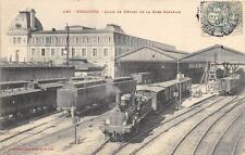 CPA 31 TOULOUSE QUAIS DE DEPART DE LA GARE MATABIAU (TRAIN EN GARE