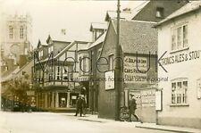 RB203 Early PHOTOGRAPH Church Street - Christchurch - 1910s