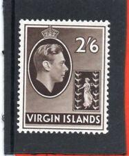 Br.Virgin Is. GV1 1938, 2s.6d. sepia sg 118 VLH.Mint