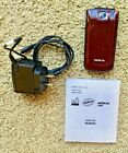 Nokia 2720 Fold - maroon Cellular Phone Unlocked