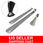 """6""""-20"""" Long Handled Metal Shoe Horn Lifter Stainless Steel with Hanging Hole US"""