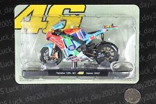 Yamaha YZR-M1 #46 Rossi Assen 2007 Motorcycle Racing Model 1/18