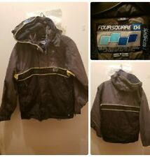 FOURSQUARE Snowboard Jacket XS Women 5K Hooded Expedition Performance Vented Ski