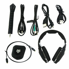 NEW Wireless Stereo Gaming Headset Kits for 360 XBOX One PS4 PS3 USB Transmitter