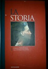 Dalla preistoria all'antico Egitto - Mondadori - la storia