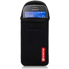 Bolsa De Neopreno Shocksock Negro caso para Samsung Galaxy Ace 4nuevoaños