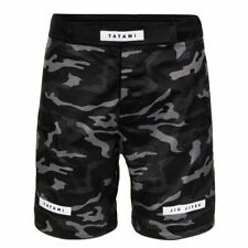 Tatami Rival Black Camo Grappling Shorts BJJ No Gi Competition Training Fight