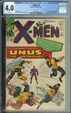 X-Men #8 CGC 4.0 1st App Unus the Untouchable