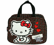 Sanrio Hello Kitty Handtasche Schultertasche Tasche   Grey Love