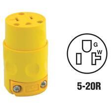 Leviton Yellow 20A125V Connector