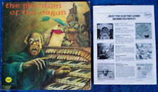 VERNE LANGDON - PHANTOM OF THE ORGAN - ELECTRIC LEMON - 1973 LP + INSERT