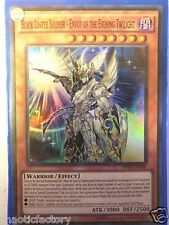YUGIOH AP08-EN008 Super Rare Black Luster Soldier  Envoy of the Evening Twilight