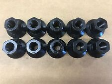 Set of 10 Dodge Ram OEM Black Oxide Steel Lug Nuts 6034726 611-296 FREE PRIORITY