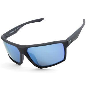 Dragon Alliance Tenzig Matte Slate Grey/Blue Ion Mirror Men's Sports Sunglasses