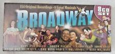 Broadway Musicals 8 CD Boxed Set 154 Original Recordings 8 Great Musicals