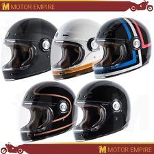 TORC T1 Full Face Fiberglass Retro Style Motorcycle Scooter Helmet DOT XS - 2XL