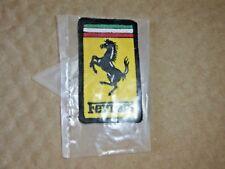 Ferrari Genuine Patch , Ferrari Patch Prancing Horse (New)