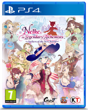 Nelke & the Legendary Alchemists: Ateliers of the New World (PS4) New & Sealed