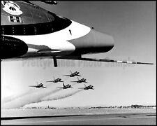 USAF Thunderbirds F-100D Super Sabre Delta 1964-1968 8x10 Photo