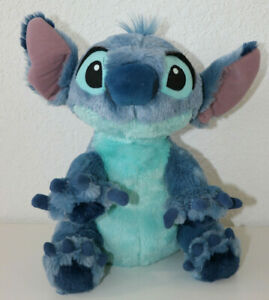 "Disney World Parks Lilo & Stitch Plush Soft Stuffed Animal Toy 12"""