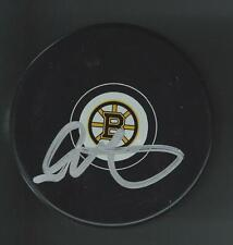 Glen Metropolit Signed Boston Bruins Puck