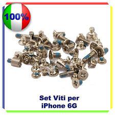 """Set VITI Completo per  iPhone 6 4,7"""" Kit Riparazione Ricambio"""