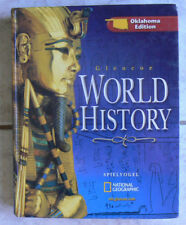 Glencoe WORLD HISTORY Spielvogel,National Geographic,2007 high school text