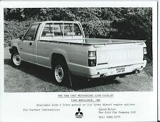 MITSUBISHI L200 LUNGA INTERASSE PICK UP 2WD ORIGINALE 1987 stampa fotografia
