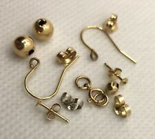 1.31g 14k Gold Scrap, Precious Metal, Some Pieces Could Be Repurposed, Free Ship