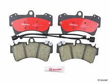 Porsche Cayenne S/Turbo 2003-2006 V8 Front Brake Pad Set & 2 Sensors - Brembo