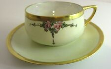 Antique Circa 1923 Rosenthal DONATELLO Coffee TEA CUP & SAUCER Iridescent AMELIA