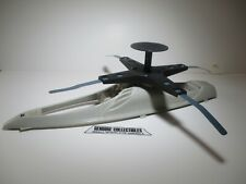 GI Joe Skystorm X-Wing Chopper UPPER BODY+ROTOR+RADAR DISH Original Parts 1988