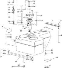 tuyau Hsun RS8 4x4 EFI pour quad pièce n°16 sur le plan