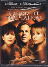 The Right Temptation - DVD starring Kiefer Sutherland - NEW/SEALED