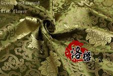 Brocade Cloth Baby Clothes Kimono Cos Silk Satin  Sewing Damask Rich Fabric
