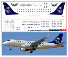 1/144 PAS-DECALS.Rus-Air.laser decal Embraer E-170 Saudi Arabian