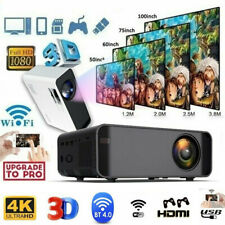 18000 Lumens 1080P 3D LED 4K USB Wifi Video Home Theater Projector Cinema HDMI