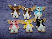Gremlins movie mini figure Gizmo Mogwai/Stripe lot of 6