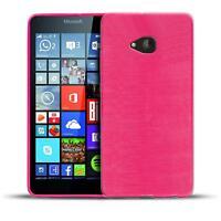 Schutz Hülle für Microsoft Lumia 640 XL Silikon Case Handy Tasche Cover Bumper