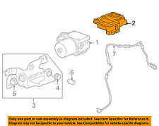 Chevrolet GM OEM 03-04 SSR ABS Anti-Lock Brake System-Control Module 19299980