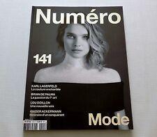 Natalia Vodianova Numero Magazine Cover #1 of 3 March 2013 New