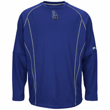 Los Angeles Dodgers On Field Practice Therma Base Pullover Sweatshirt, Men's S