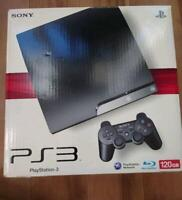 SONY PS3 PlayStation 3 120GB Black CECH-2000A Game console Used Tested Boxed F/S