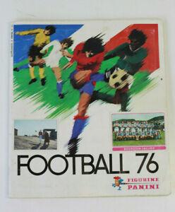 Album d'images de foot PANINI 1976