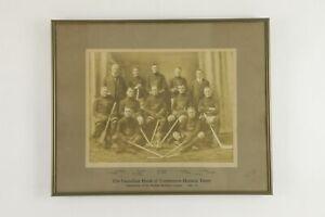 1921-22 Canadian Bank Of Commerce Hockey Team Framed Large Format Photo